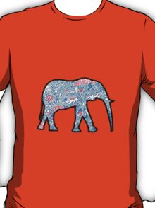Lilly Print Elephant 8 T-Shirt