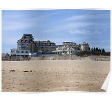 OCEAN HOUSE - A View from East Beach 2 Poster