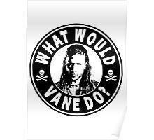 What Would Vane Do Poster