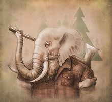 Lumberphant by miralina