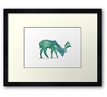 Prongs Watercolour Framed Print