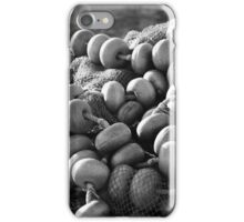 Fishing nets and buoys iPhone Case/Skin