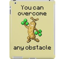 Sudowoodo #185 - You can overcome any obstacle iPad Case/Skin