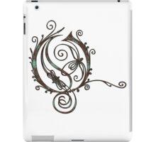 LATTICE LETTER O - the sea iPad Case/Skin