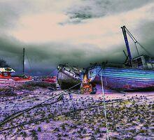 the 3 boats by davidautef