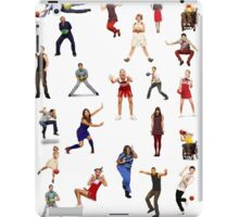 glee dodgeball iPad Case/Skin