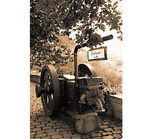 Vintage machinery Photographic Print