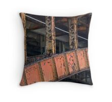 In Danger there is Beauty Throw Pillow
