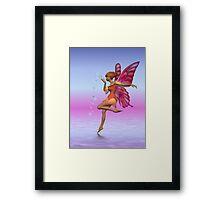 Fairy Kisses Framed Print