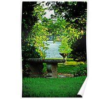 Lake View Garden Poster