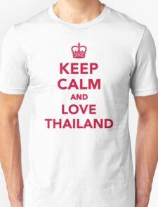Keep calm and love Thailand T-Shirt