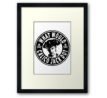 What Would Calico Jack Do Framed Print