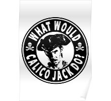 What Would Calico Jack Do Poster