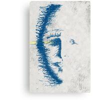 face erode Canvas Print