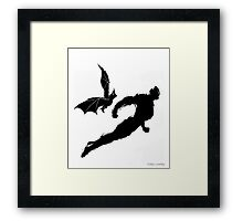 FURY OF THE SHADOW Framed Print