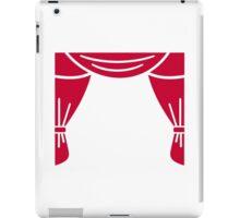 Theater curtain iPad Case/Skin