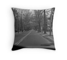 Warwick Road HaddonField NJ Throw Pillow