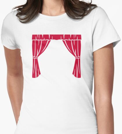 Theater cinema Womens Fitted T-Shirt