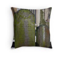 Gravestone Throw Pillow