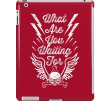 Waiting for... iPad Case/Skin