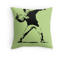 Shoe Thrower BP2 Throw Pillow