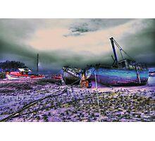 les troix bateaux Photographic Print
