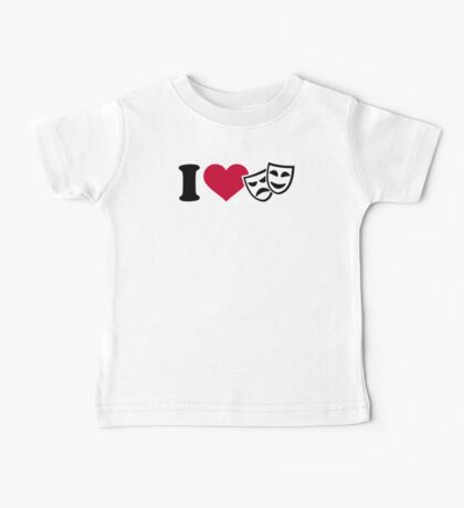 I love theater masks Baby Tee