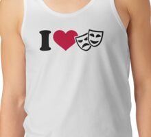 I love theater masks Tank Top