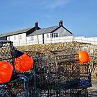 Fishing Gear At The Cobb by Susie Peek