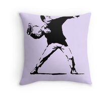 Shoe Thrower BP3 Throw Pillow