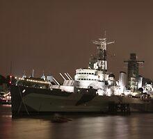 HMS Belfast by Tim Emmerson