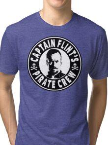 Captain Flints Pirate Crew Tri-blend T-Shirt