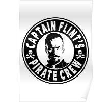 Captain Flints Pirate Crew Poster