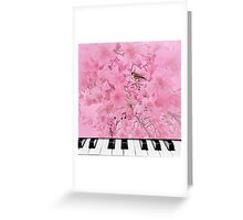 Spring Song2 Greeting Card