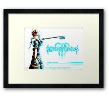 Kingdom Hearts: Sora Framed Print