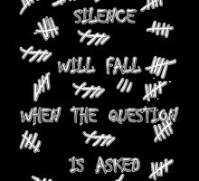 Doctor Who - Silence Will Fall When the Question is Asked by TylerMellark