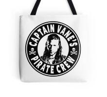 Captain Vanes Pirate Crew Tote Bag