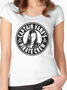 Captain Vanes Pirate Crew Women's Fitted Scoop T-Shirt