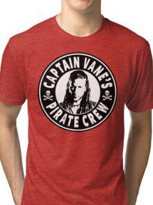 Captain Vanes Pirate Crew Tri-blend T-Shirt