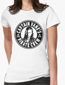 Captain Vanes Pirate Crew Womens Fitted T-Shirt