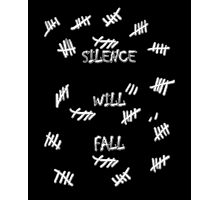Doctor Who -Silence Will Fall Photographic Print