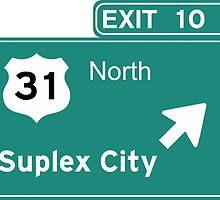 Suplex City T-Shirt - Brock Lesnar by iHux