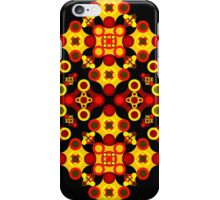 Vivid geometrical ornament  iPhone Case/Skin