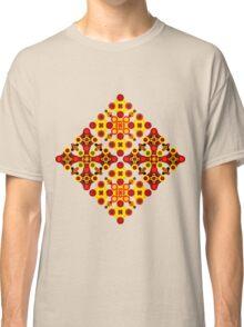 Vivid geometrical ornament  Classic T-Shirt