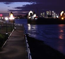 The Thames Barrier by Tim Emmerson