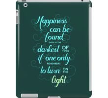 Harry Potter - Dumbledore Quote  iPad Case/Skin