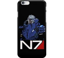 Mass Effect - Garrus Vakarian N7 Symbol iPhone Case/Skin