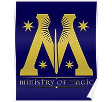 Harry Potter - Ministry of Magic Symbol Poster