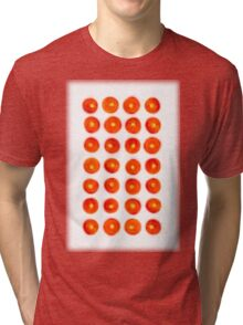 Tomato in rows Tri-blend T-Shirt