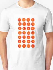 Tomato in rows Unisex T-Shirt